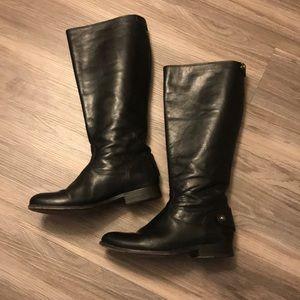 Frye Melissa button back boot wide calf 7.5